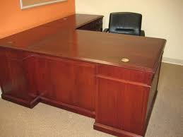 l shaped wood desk. L Shaped Wood Desk Photo Of Office Furniture United States Traditional Kidney A