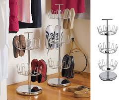 So when our computer screen came across this solution, we had to explore the Revolving Shoe Tree further. Look!: | Apartment Therapy