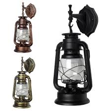 Rustic Lantern Light Details About Retro Antique Vintage Rustic Lantern Lamp Wall Sconce Light Fixture Outdoor E27