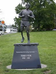 best terry fox images eh terry o quinn  terry fox statue mile one