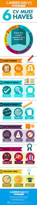 Career Savvy   CV Advice Infographic Pinterest