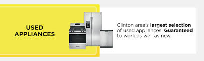Brands Of Kitchen Appliances Turner Appliance In Clinton Iowa Offers New Appliances And Parts