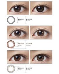 Acuvue Contact Colors Chart Acuvue Define Circle Lenses Dailies Natural Contact Lenses