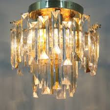 Perfect Vintage Italian Murano Glass Ceiling Light 2