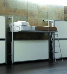 minimalist fold down bunk beds