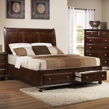 Portsmouth B 6075 King Panel Bed with Storage Footboard by Crown Mark {King  Bed $820