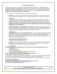Graduate School Application Resume Sakuranbogumi Com