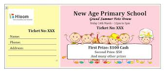 microsoft raffle ticket template 40 free editable raffle movie ticket templates