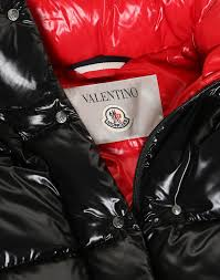 Moncler Vltn Quilted Down Coat For Woman Valentino Online