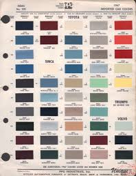 Toyotas 2012 Colors Charts Related Keywords Suggestions