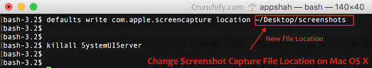 Screen Capture Mac Mac Os X And Change Command Shift 4 Screen Capture File