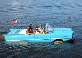 all categories a detail enthusiast it s an amphicar a concept car built in west throughout the early mid 60 s it could do 70mph on the highway and 70 knots in