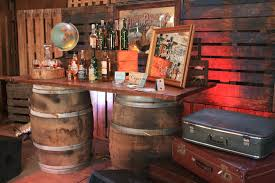 oak wine barrels. wooden wine barrel rustic bar pimms station cigar oak barrels