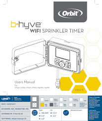 Orbit Sprinkler Designer Orbit Irrigation Product Wt25 Smart Wifi Sprinkler Timer