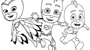 Pj Masks Coloring Pages Printable Get Coloring Page