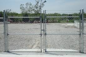 chain link fence double gate. Chain Link Fence Double Gate N