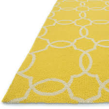 rugs curtains attractive yellow and ivory trellis indoor