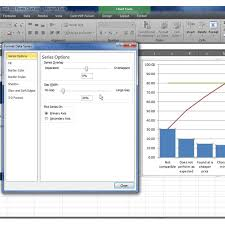 Pareto Analysis In Excel Template How To Make A Pareto Chart In Excel 2007 2010 With Downloadable