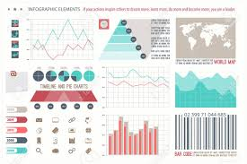Infographic Elements Web Technology Icons Timeline Option Graph