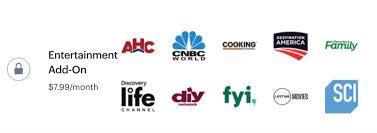 hulu tv channels entertainment add on