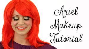 ariel makeup tutorial the little mermaid makeup disney princess series you