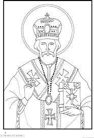 St Nick Coloring Pages Elegant St Francis Coloring Page Saint