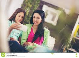 Group Of Teenage Friends Taking A Selfie With A Mobile Phone While     Getty Images