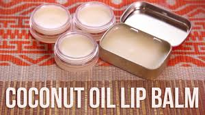 how to make your own coconut oil lip balm