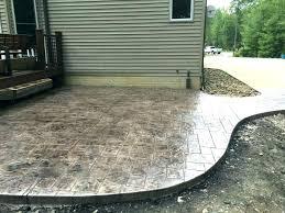 concrete patio cost per square foot concrete patio cost stamped concrete patio stamped concrete patio in
