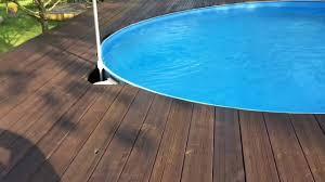 Podest mit treppe und geländer. Pool Podest Selbst Bauen Youtube