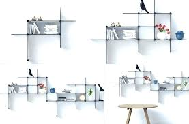 glass shelves bathroom decorative glass shelves bathroom modern wall in design 9 beautiful floating glass shelves