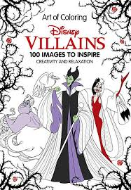 When i was younger, i loved disney movies. Art Of Coloring Disney Villains 100 Images To Inspire Creativity And Relaxation Walmart Com Walmart Com