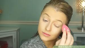 image led apply makeup like barbie step 1