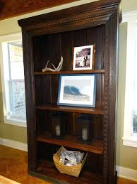 dark wood bookcase solid wood bookcases family room with bookcase cabinet carved wood dark wood bookcase