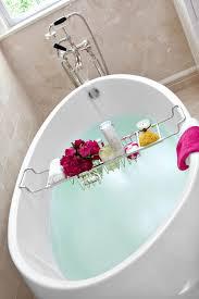 mesmerizing umbra aquala bamboo chrome bathtub caddy 125 jobar home spa bath bathtub photos