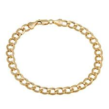 michael anthony jewelry 14k cuban link 8 1 2 bracelet