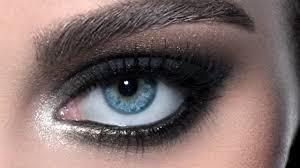 all black smokey eye makeup