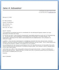 Sample Cover Letter Engineer Kliqplan Com