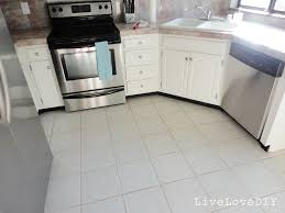Painting Kitchen Floor Livelovediy How To Restore Dirty Tile Grout