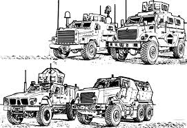 army vehicles coloring pages for military vehicle coloring pages