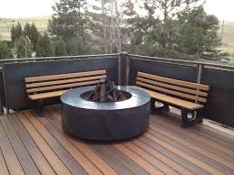 the importance of fire pit mat for wood deck ideas for elegant gas fireplace for deck