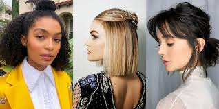 Easy Medium Hairstyles How To Style Mid Length And Shoulder Length