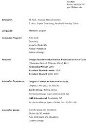 Resume Architects Resume