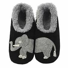 Snoozies Size Chart Snoozies Womens Classic Splitz Applique Slipper Socks