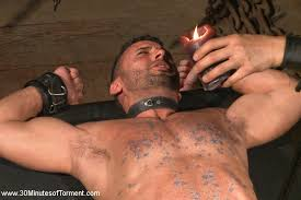 Asian hunk bound and tormented
