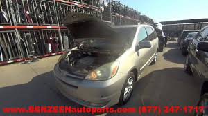 2004 Toyota Sienna Parts For Sale - 1 Year Warranty - YouTube
