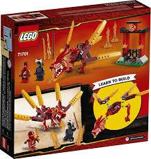 71701 Kai's Fire Dragon by LEGO Ninjago - FUNdamentally Toys