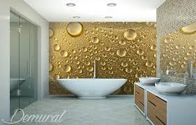 bathroom wallpaper. A Foam Bath Bathroom Wallpaper