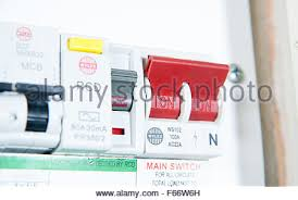 fuse stock photos fuse stock images page 9 alamy domestic home electrics main fuse box on off switch uk stock image