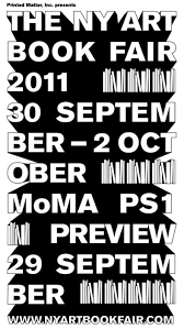 about town the new york art book fair presented by printed matter inc